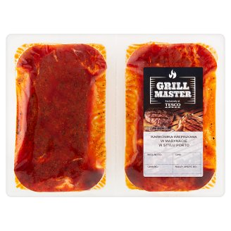 Tesco Grill Pork Neck in Paprika Marinate 550 g
