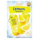 Tesco Lemon Sensation Lody wodne 420 ml (7 sztuk)