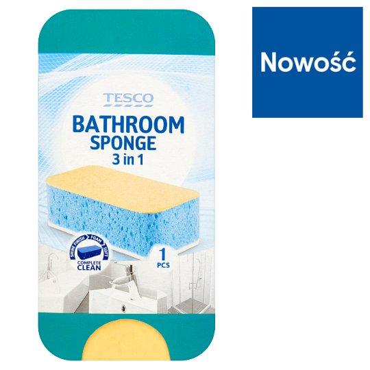 Tesco 3in1 Bathroom Sponge