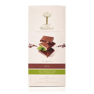 Balance Luxury No Added Sugar Belgian Milk Chocolate with Stevia 85 g