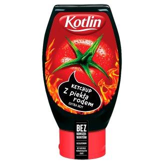 Kotlin Extra Hot Ketchup 450 g