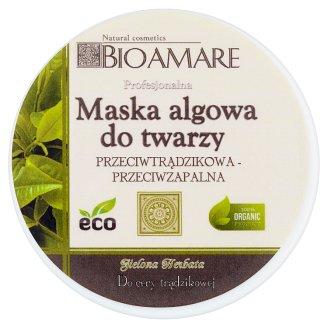 Bioamare Zielona herbata Maska algowa do twarzy 100 ml