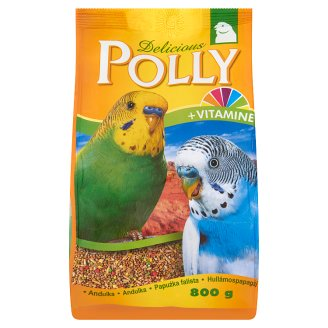 Delicious Polly Budgerigar Complete Food for Budgerigars 800 g