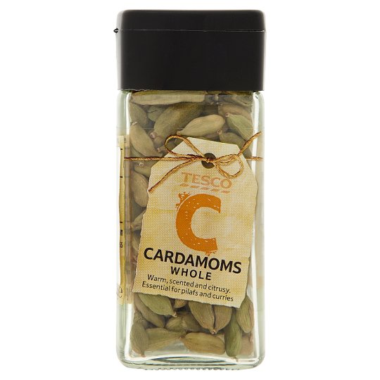 Tesco Whole Cardamom 30 g