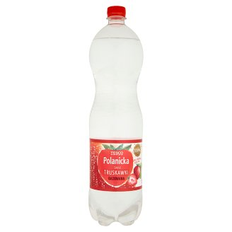 Tesco Polanicka Strawberry Sparkling Drink 1.5 L