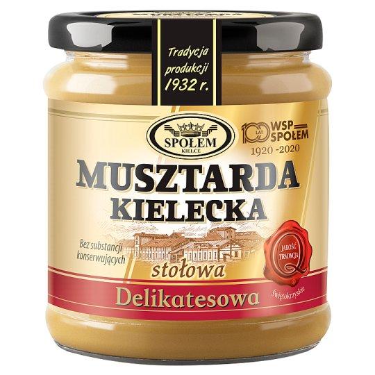 Musztarda Kielecka stołowa delikatesowa 190 g
