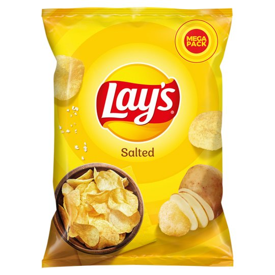 Lay's Salted Potato Crisps 215 g