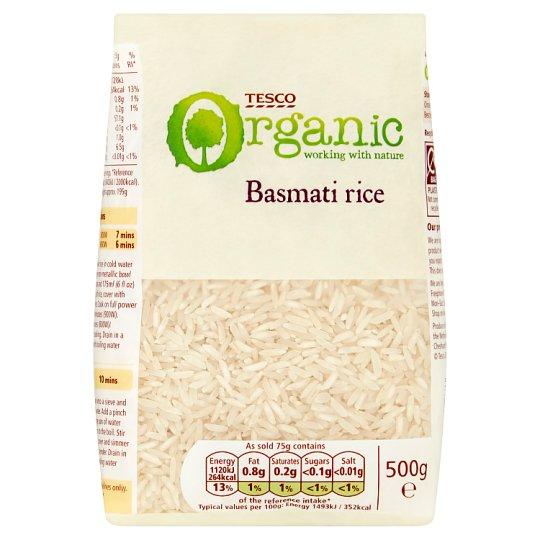 Tesco Organic Basmati Organic Rice 500 g