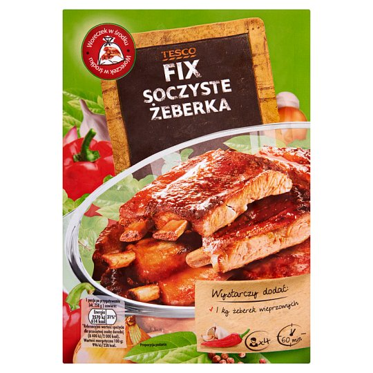 Tesco Fix Juicy Ribs 30 g
