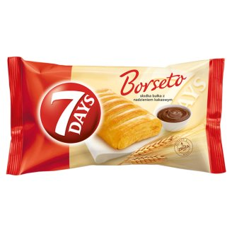 7 Days Borseto Sweet Roll with Cocoa Filling 80 g