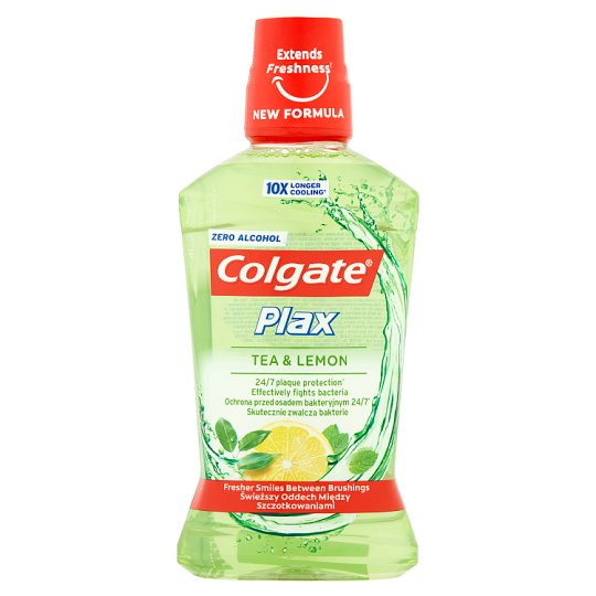 Colgate Plax Tea & Lemon Płyn do płukania jamy ustnej 500 ml