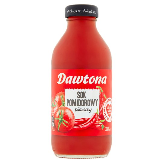 Dawtona Hot Tomato Juice 330 ml