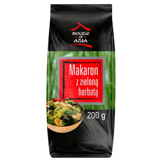 House of Asia Pasta with Tapioca and Green Tea 200 g