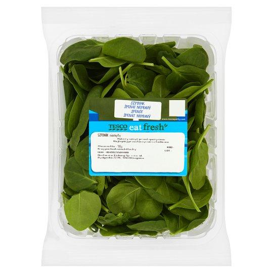 Tesco Spinach 100 g