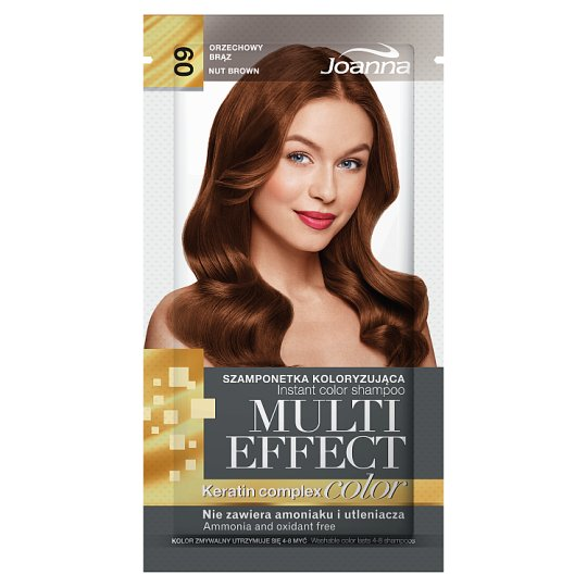 Joanna Multi Effect color Instant Color Shampoo Nut Brown 09 35 g