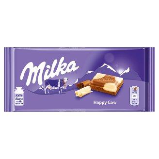 Milka Alpine Milk and White Chocolate Happy Cows 100 g