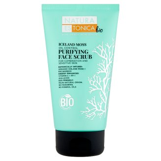 Natura Estonica Bio Iceland Moss Purifying Face Scrub 150 ml