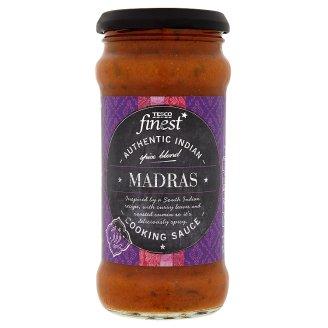Tesco Finest Pomidorowy sos indyjski z cebuli z mieszanką przypraw i pastą kokosową 350 g