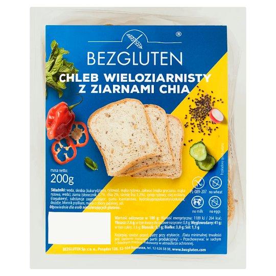 Bezgluten Chleb wieloziarnisty z ziarnami chia 200 g