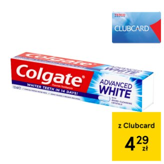 Colgate Advanced White Fluoride Toothpaste 125 ml