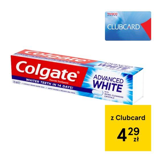 Colgate Advanced White Fluoride Toothpaste 125 ml