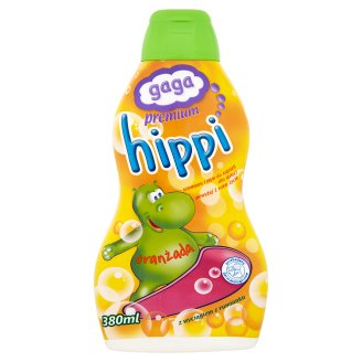 Gaga Premium Hippi Orangeade Shampoo and Bubble Bath for Children 380 ml