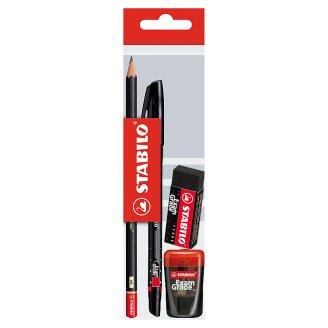 Stabilo Exam Grade Pen Pencil Eraser Pencil Sharpener Set