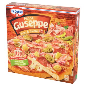 Dr. Oetker Guseppe Ham and Salami Hot Pizza 400 g