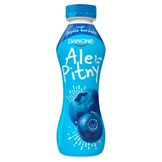 Danone ale Pitny Huckleberry Blueberry Yoghurt Drink 290 g