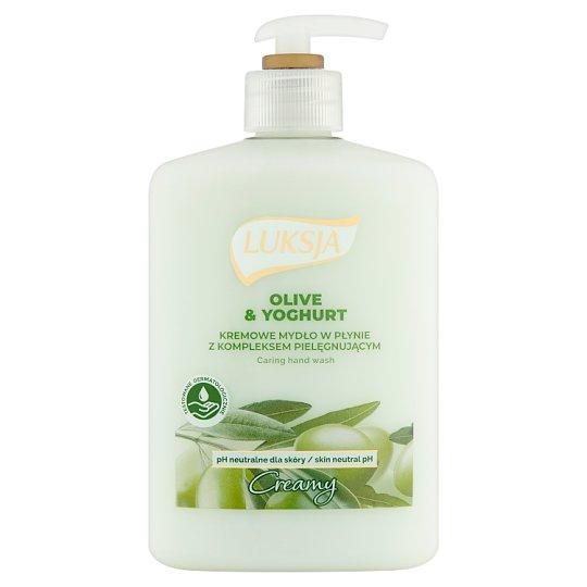 Luksja Creamy Olive & Yoghurt Liquid Soap 500 ml