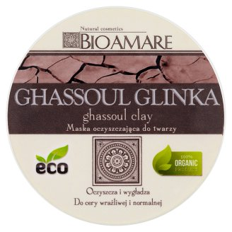 Bioamare Ghassoul Clay Face Purifying Mask 100 ml