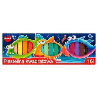 Mona Square Plasticine 16 Colors
