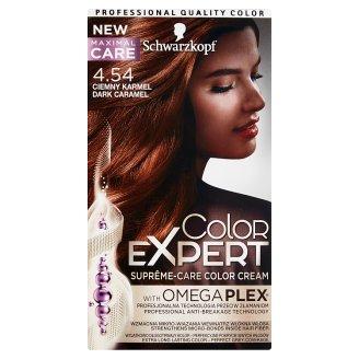 Schwarzkopf Color Expert Farba do włosów 4.54 Ciemny karmel