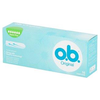 O.B. Original Super Plus Tampons 16 Pieces