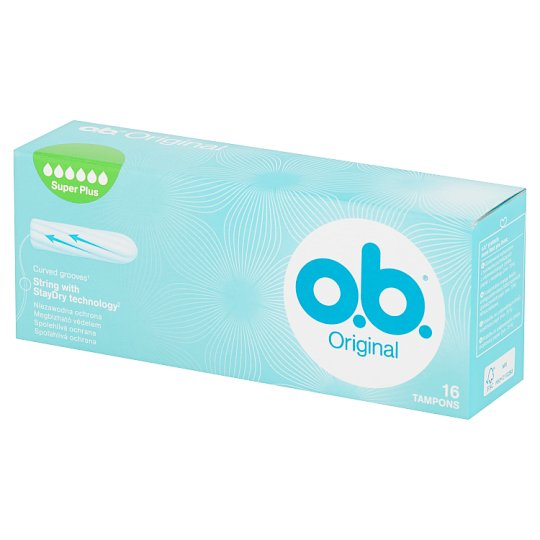 O.B. Original Super Plus Tampony 16 sztuk