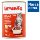 Brunos Chunks with Poultry and Beef in Gravy Food for Adult Cats 415 g
