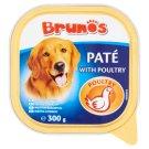 Brunos Pełnoporcjowa karma dla dorosłych psów pasztet z drobiem 300 g