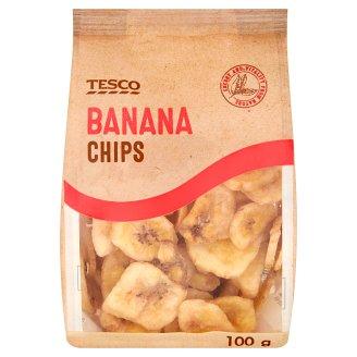 Tesco Chipsy bananowe 100 g