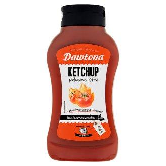 Dawtona Hellish Hot Ketchup 560 g