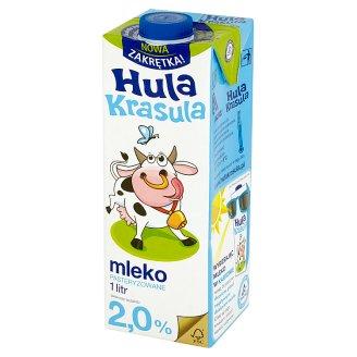 Hula Krasula Pasteurized Milk 2.0% 1 L