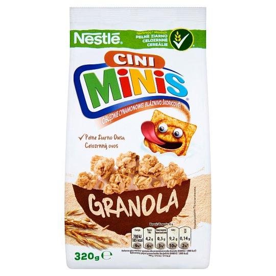 Znalezione obrazy dla zapytania Nestlé Cini Minis Płatki śniadaniowe granola