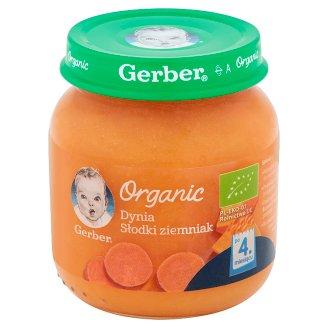 Gerber Organic Pumpkin Sweet Potato after 4 Months Onwards 125 g