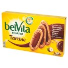 belVita Breakfast Chocolate-Hazelnut Whole Grains Cookies 250 g (5 x 3 Pieces)