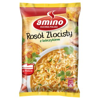 Amino Golden Broth with Loveliness Instant Soup 57 g