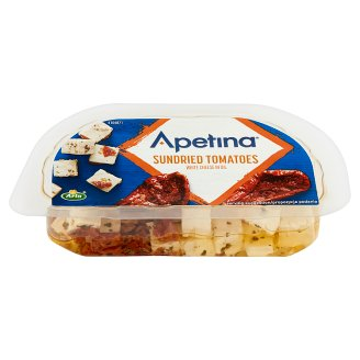 Arla Apetina Mediterranean Style White Cheese in Oil with Sundried Tomatoes 100 g