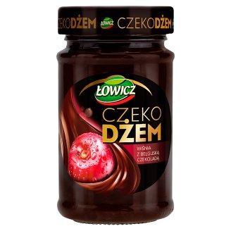 Łowicz Cherry with Belgian Chocolate Choco Jam 250 g