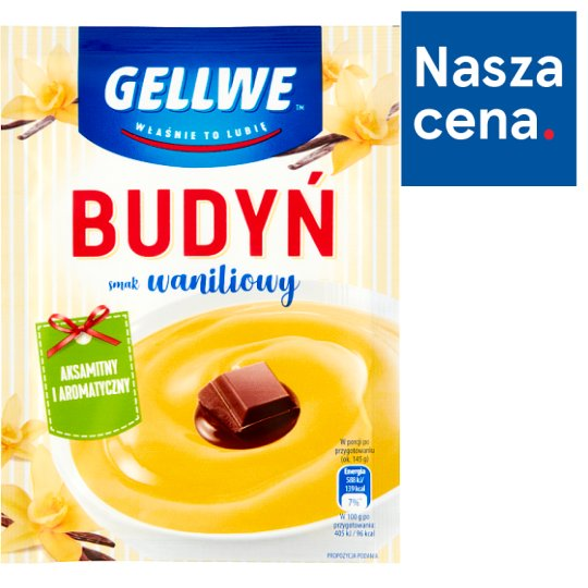 Gellwe Budyń smak waniliowy 40 g