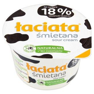 Łaciata Śmietana 18% 180 g
