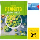 Tesco Peanuts Wasabi Coated 200 g