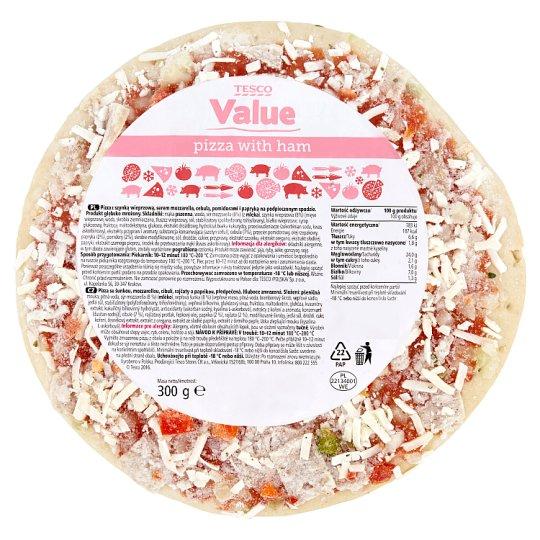 Tesco Value Pizza z szynką 300 g